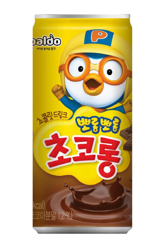 팔도, 어린이 초코음료 '뽀롱뽀롱 초코롱' 출시
