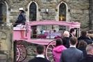 생후 3개월만에 사망한 아기 위한 '핑크빛 장례식'