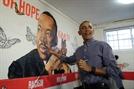 """마틴 루서 킹의 날...오바마 """"제 킹 목사 그림 어때요?"""""""