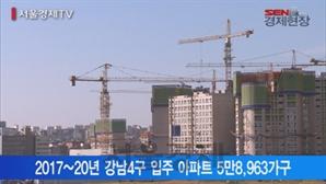 [서울경제TV] 새 아파트 '홍수' 2019~20년 강동구 노려라