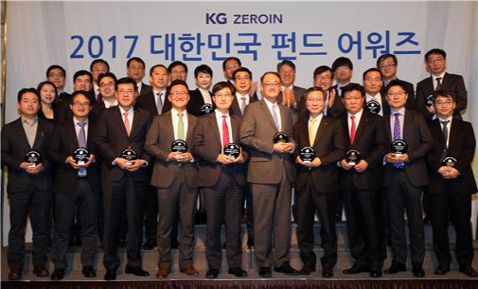 제로인, 2017 대한민국 펀드 대상에 '한국운용'
