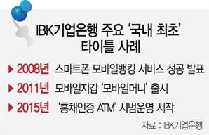 """[디지털 금융혁신 우리가 이끈다] IBK기업은행 """"국내 최초는 잊어라""""...고객 가치·수요 발굴 나선다"""
