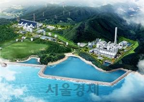 [서울경제TV] SK건설, 국내 최대 민자발전소 '고성하이화력발전소' 착공