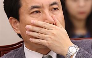 """김진태vs박범계 """"어디서 반말해!"""" 고성 주고받기"""