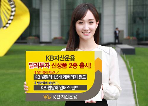 [핫 신상품]KB자산운용 '달러투자 공모펀드 2종'