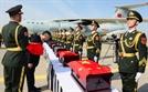 중국군 유해 인도식...예 올리는 추궈훙 주한 중국대사