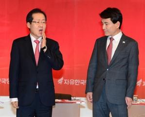 """김진태 """"홍준표, 과거 국가 보안법 폐지 주장"""""""