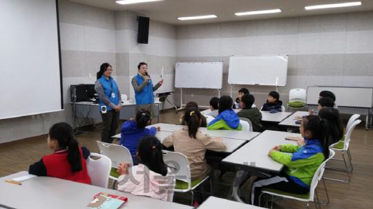 수원 숙지초등학교 학생들 기후 변화 체험 나서 '눈길'