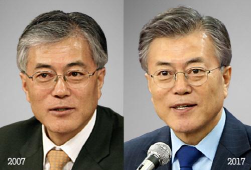 강산도 변하는 10년, 대선주자 얼굴은? '홍준표vs심상정vs유승민'편