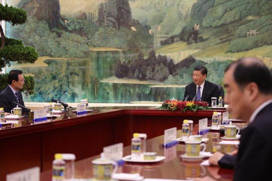 시진핑, 이해찬 특사 회담 자리배치 외교적 결례 논란