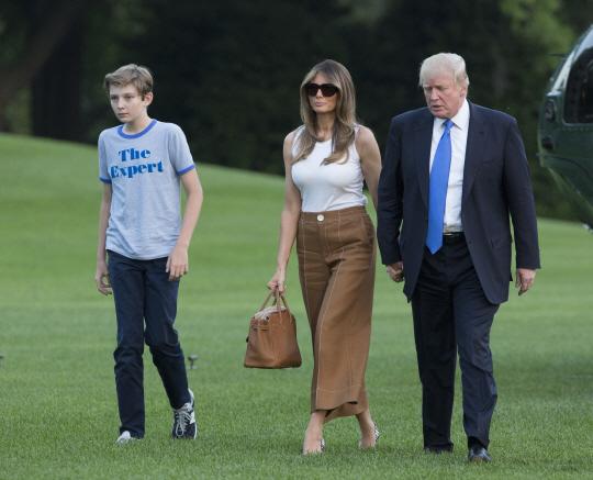 5개월만에 살림 합친 트럼프 가족