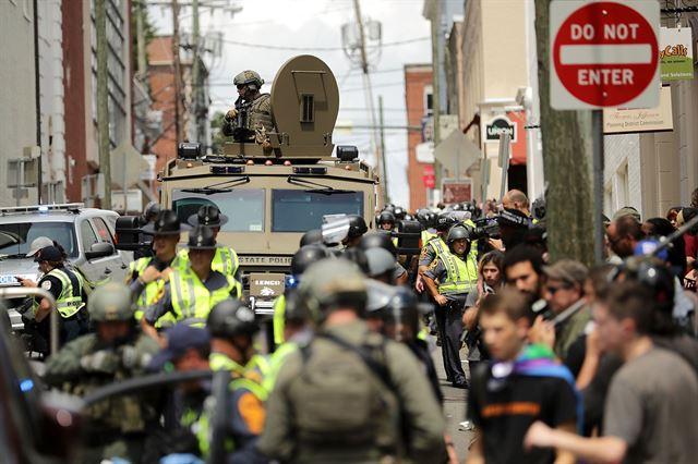 버지니아 비상사태 선포, 무슨 일...폭력시위로 곳곳서 사망소식 '참혹'