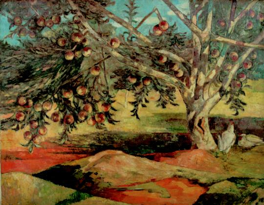 [조상인의 예(藝)]탐스러운 사과…수탉의 울음…해방의 새벽을 그리다