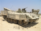 [권홍우 선임기자의 무기 이야기] '옛 소련제 T-55' 이스라엘 시가지 전용 장갑차로 탈바꿈
