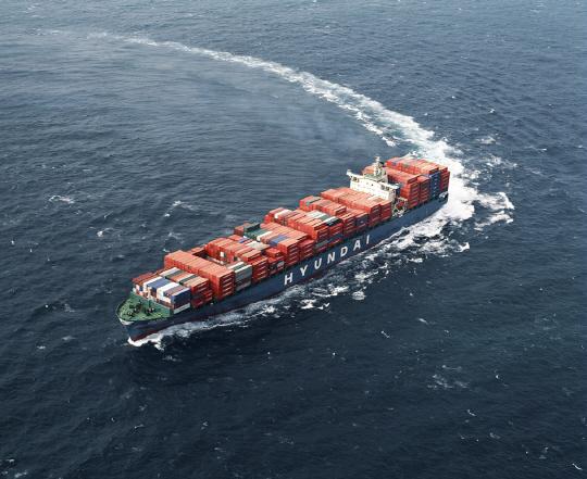 현대상선, 개방형 해킹방지'블록체인' 도입 운항 성공 완료