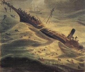 금광과 보물선 침몰, 공황