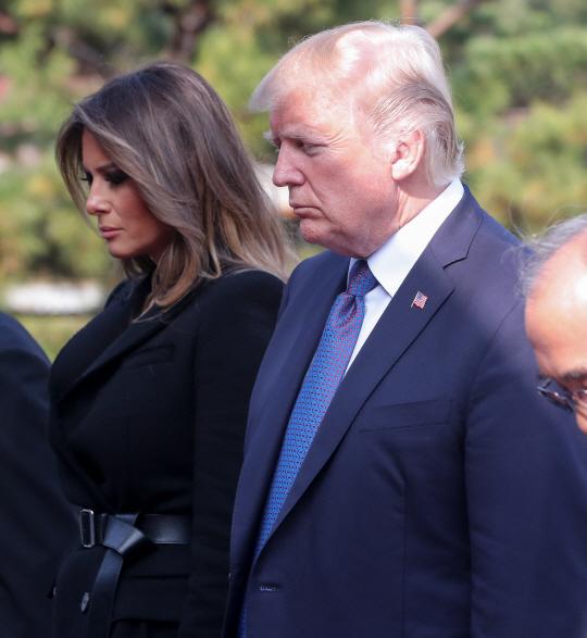 [속보] 트럼프 美대통령, 1박2일 방한 마치고 중국으로 출발