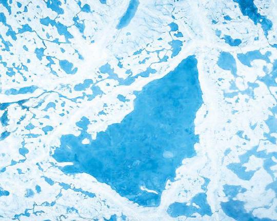 녹아가는 북극 추워지는 겨울