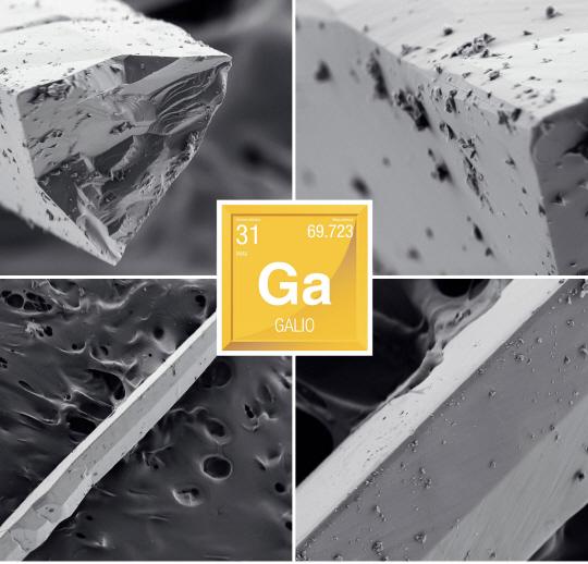 화합물 반도체 핵심원료 고순도 갈륨, 폐기물에서 캔다