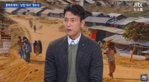 """'뉴스룸' 정우성, """"영화 홍보 안해도 돼"""" 출연 이유는?"""