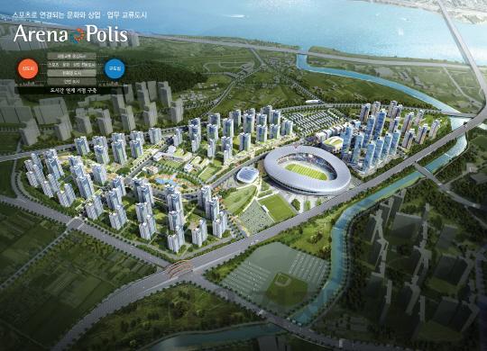 김포 한강신도시 걸포4지구 8,000가구 미니 신도시 조성