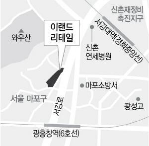 이랜드, 광흥창역 청년임대 589가구 공급