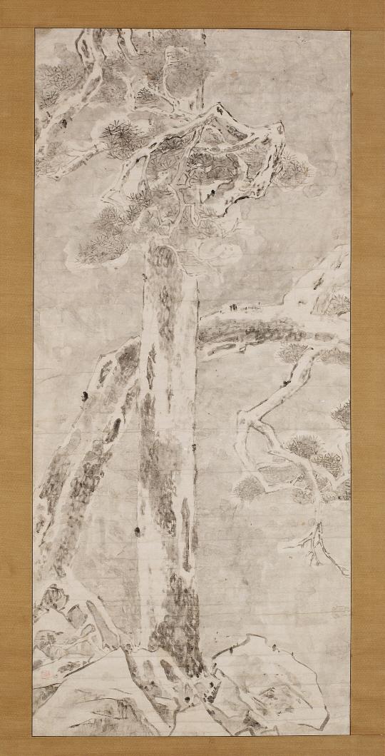 [조상인의 예(藝)-이인상 '설송도']담담한 먹빛...서릿발 같은 기개...선비의 혼 깃든 雪松