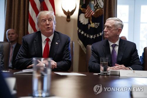 """""""美국방부, 트럼프에 핵무기 확대·저강도 핵무기 개발 요청"""""""