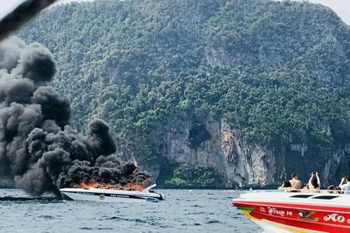 태국 피피섬 인근서 쾌속정 폭발 사고…중국인 포함 16명 부상
