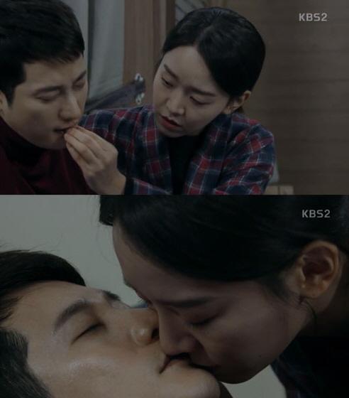 """'황금빛' 신혜선, 눈물의 키스로 박시후 보냈다…""""오빠 잘가요"""""""