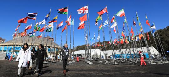 北 평창올림픽 참가 정부지원단에 남북협력기금 1억4,800만원