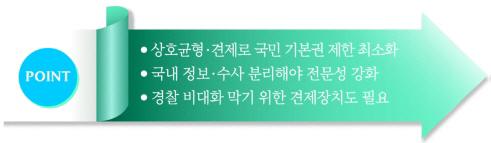 [어떻게 생각하십니까] 국정원 대공수사권 경찰 이관-찬성