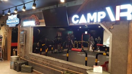 캠프VR의 VR 서바이벌 게임 '스페이스 워리어', 롯데월드 VR SPACE에 서비스 시작
