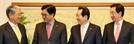 국회의장·3당 원내대표 회동…2월국회 돌파구 논의