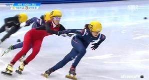 """반칙왕 판커신, 밀어놓고 억울? """"스케이트 타는 법 알려주러 중국 가야 되겠다"""" 김동성 사이다 발언"""