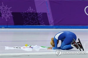 김보름, 여자 매스스타트 은메달 획득…日 다카기 나나 금메달