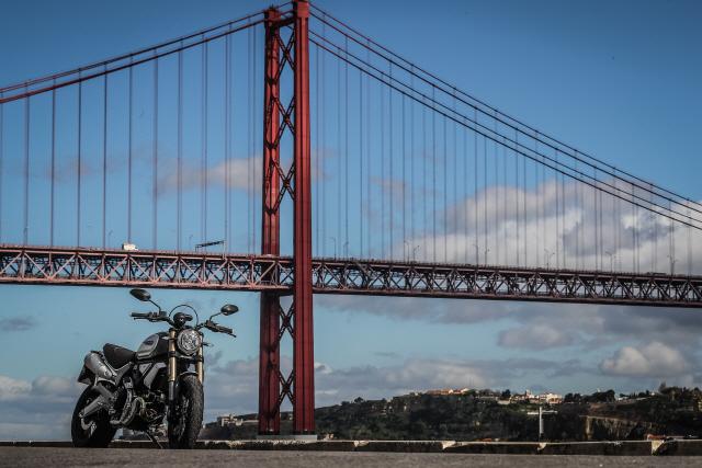 [두유바이크]58회포르투갈에서 미리 만나본 두카티 스크램블러1100