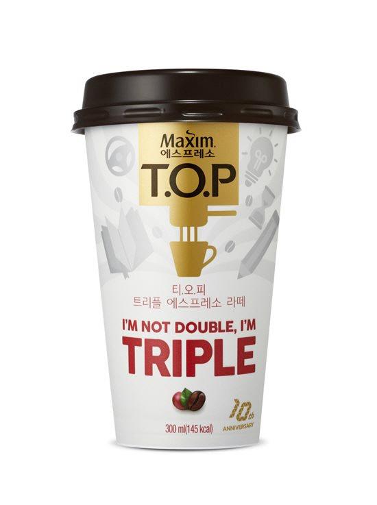 동서식품, 컵커피 '맥심 티오피 트리플 에스프레소 라떼' 출시