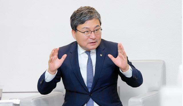 '취임 100일' 이상직 중진공 이사장 '복합금융으로 제2의 토스·직방 육성…유니콘 10개 이상 만들 것'