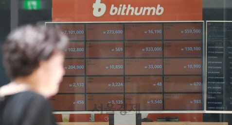 빗썸 해킹에 가상화폐시장 출렁…비트코인 국제가격 2.3% 하락