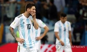 """크로아티아전 """"패배 원인은 리오넬 메시…"""" 아르헨티나 팬들 불만 커져"""