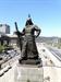 [조상인의 예(藝)-<66>김세중 '충무공 이순신 장군상']오른손엔 칼...당당한 위용...승리한 장군의 기백을 담다