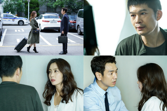 '시크릿 마더' 송윤아·김소연, 위험한 진실에 다가가는 두 여자..경찰서에선 무슨 일이?!