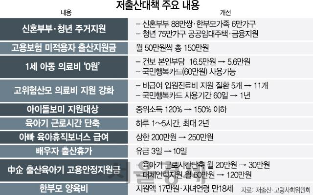 [뒷북경제] 文정부 첫 저출산대책...'급한불 끄자'지만 '붕어빵·용두사미' 쓴소리도