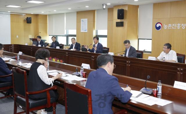 라승용 농진청장, 농약허용물질목록관리제도 시행…긴급 점검회의