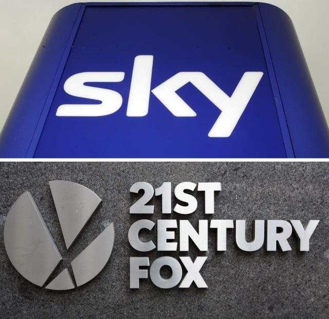 영국, 폭스에 위성방송 스카이 인수 승인