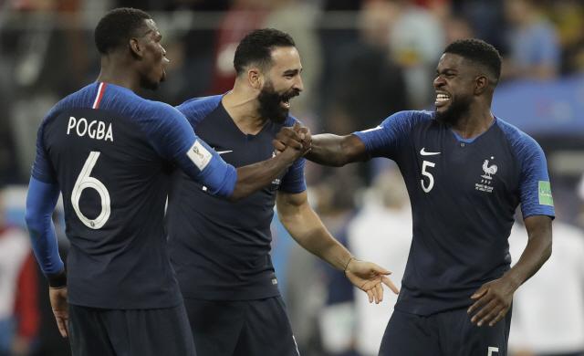 [러시아월드컵] 한 경기도 못뛴 선수가 프랑스 결승진출 일등공신?