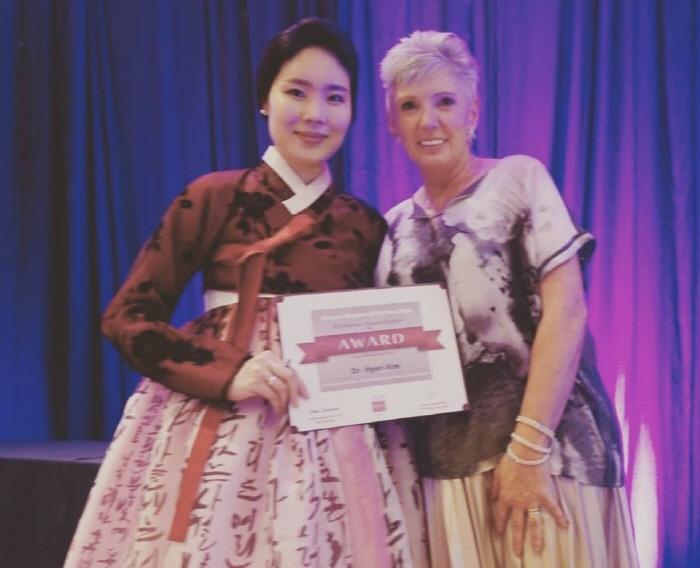제이노블이미지랩 원장 김혜리 박사, 대한민국 최초, 세계 최연소 2016 올해의 국제이미지컨설턴트 수상