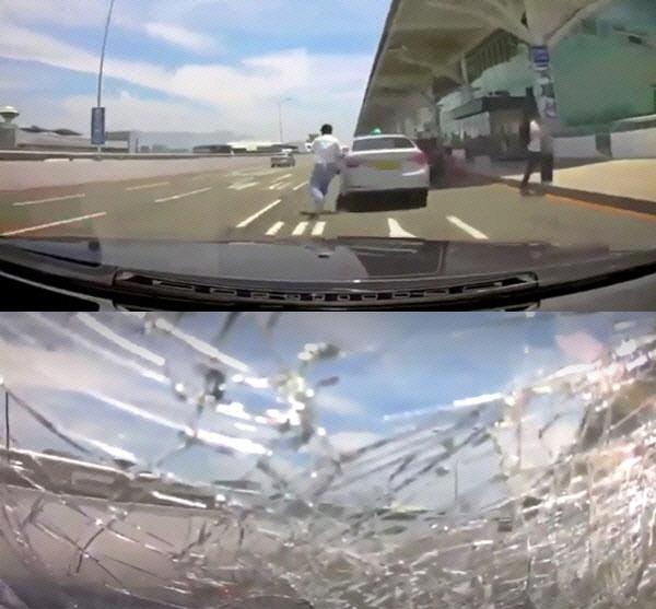 """김해공항 BMW 사고 피해자 가족...'풍비박산' 고통 속 기적 바랄 뿐"""""""