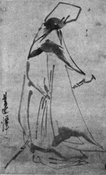 [조상인의 예(藝)-70김명국 '달마도']담묵·농묵 어우러진 거침없는 붓질...高僧의 정신세계를 담다